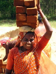 Building a women's meeting place in India